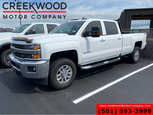 2016 Chevrolet Silverado 2500HD LT 4x4 6.0L Gas 1 Owner Long Bed White Financing