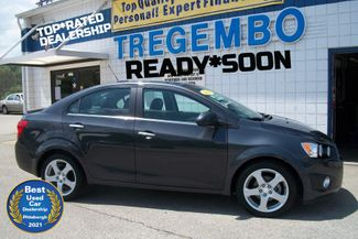 2016 Chevrolet Sonic LTZ in Bentleyville Pennsylvania, 15314
