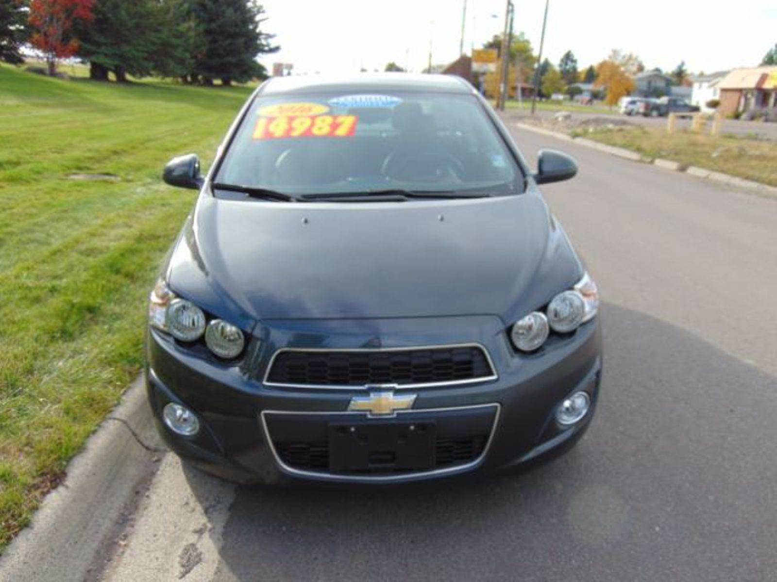 ... 2016 Chevrolet Sonic LTZ City MT Bleskin Motor Company In Great Falls,  ...