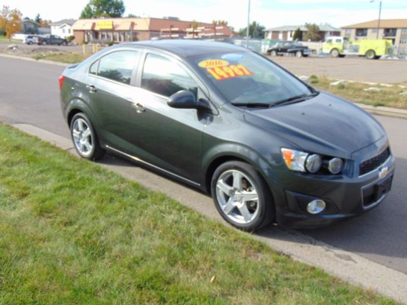 2016 Chevrolet Sonic LTZ  city MT  Bleskin Motor Company   in Great Falls, MT