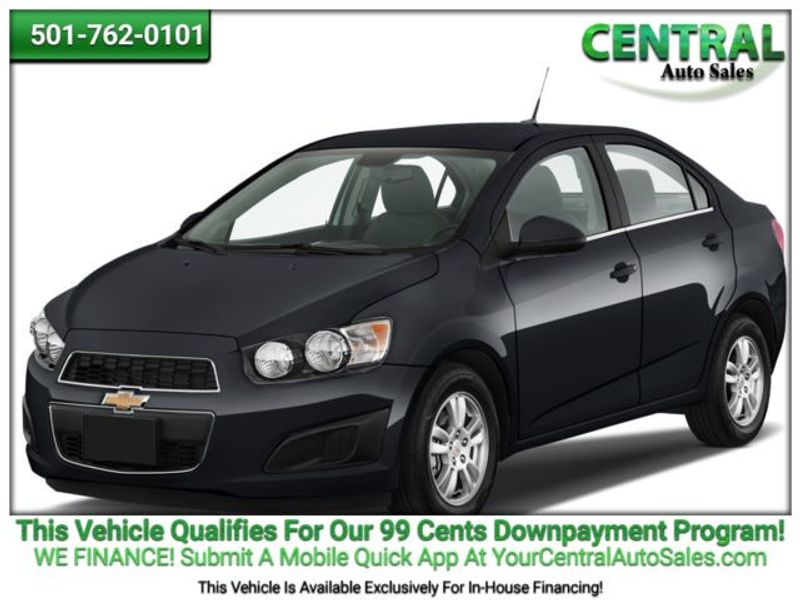 2016 Chevrolet Sonic LT | Hot Springs, AR | Central Auto Sales in Hot Springs AR