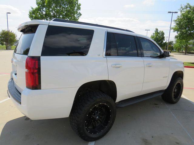 2016 Chevrolet Tahoe LT Custom Lift, Wheels and Tires in McKinney, Texas 75070
