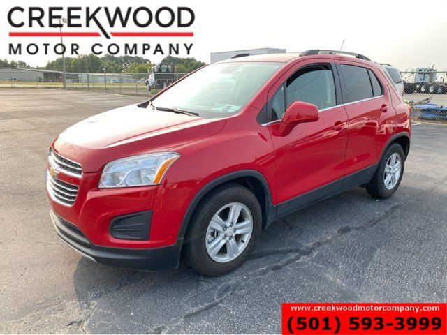 2016 Chevrolet Trax LT SUV Red Low Miles 1 Owner 34mpg Cloth CLEAN