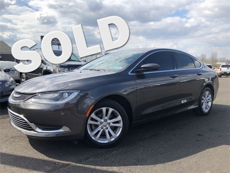 2016 Chrysler 200 Limited 55K LOW MILES 36MPG We Finance | Canton, Ohio | Ohio Auto Warehouse LLC in Canton Ohio