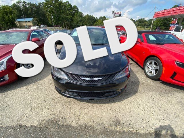2016 Chrysler 200 S - John Gibson Auto Sales Hot Springs in Hot Springs Arkansas