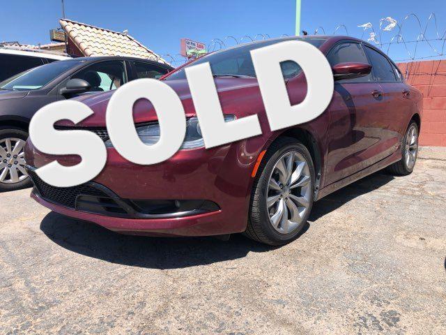 2016 Chrysler 200 S CAR PROS AUTO CENTER (702) 405-9905 Las Vegas, Nevada