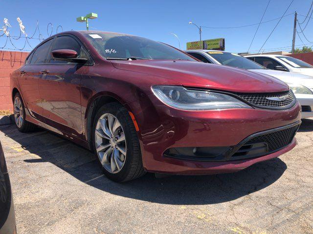 2016 Chrysler 200 S CAR PROS AUTO CENTER (702) 405-9905 Las Vegas, Nevada 1