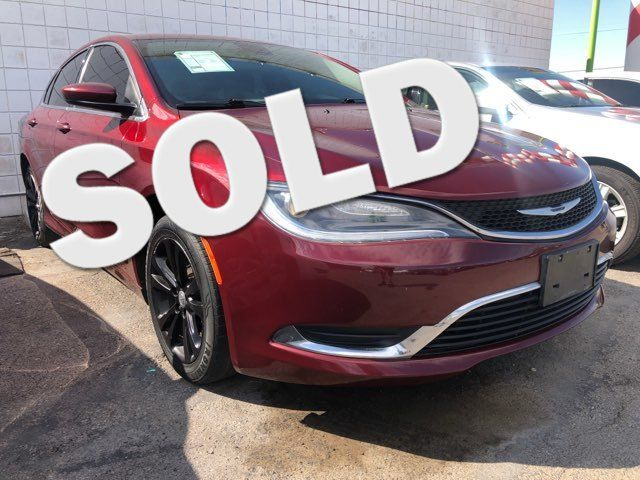 2016 Chrysler 200 Limited CAR PROS AUTO CENTER (702) 405-9905 Las Vegas, Nevada