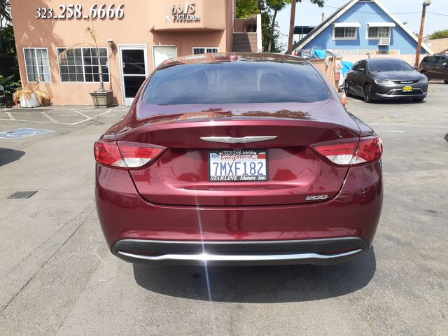 2016 Chrysler 200 Limited Los Angeles, CA 10