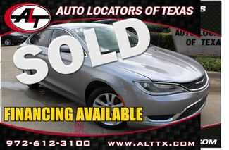 2016 Chrysler 200 Limited | Plano, TX | Consign My Vehicle in  TX