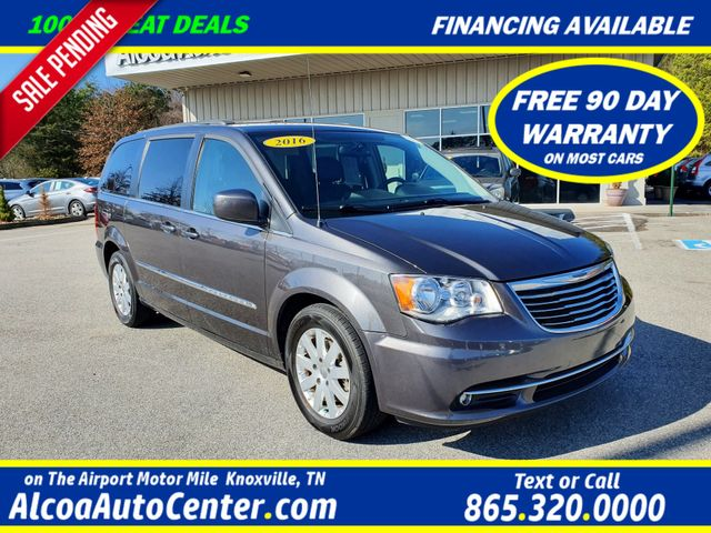 2016 Chrysler Town & Country Touring w/Leather/DVD