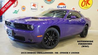 2016 Dodge Challenger R/T Plus AUTO,BACK-UP CAM,HTD/COOL LTH,BLK 20'S... in Carrollton TX, 75006