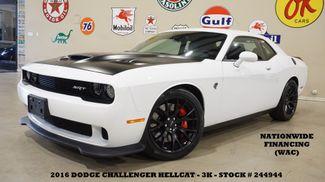 2016 Dodge Challenger SRT Hellcat 6 SPD,NAV,HTD/COOL LTH,BLK 20'S,3K! in Carrollton TX, 75006