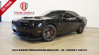 2016 Dodge Challenger SRT Hellcat ROOF,NAV,HTD/COOL LTH,1K,WE FINANCE in Carrollton, TX 75006
