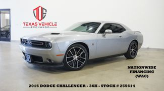 2016 Dodge Challenger R/T Scat Pack 6 SPD,NAV,BACK-UP,CLOTH,36K in Carrollton, TX 75006