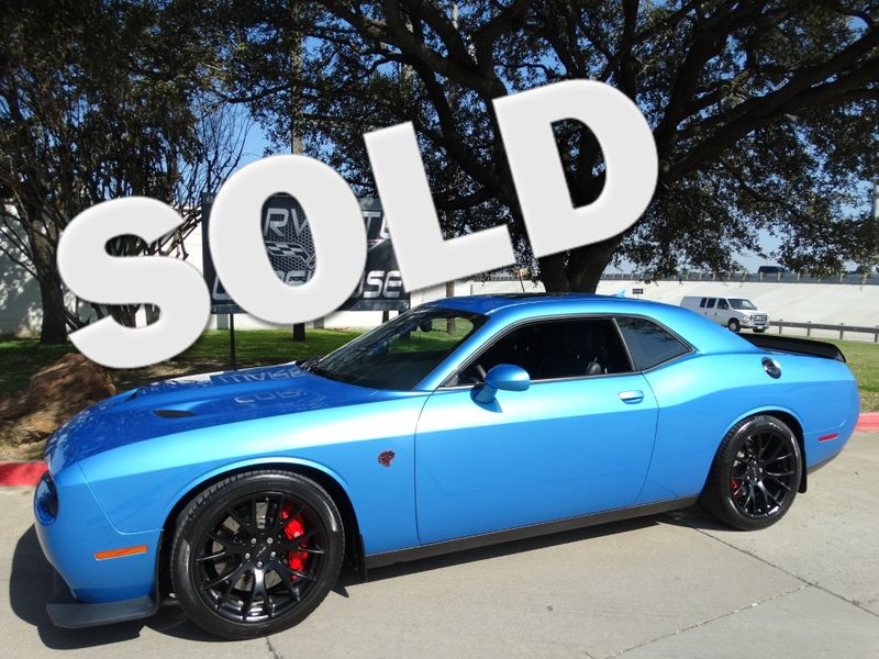 2016 Dodge Challenger SRT Hellcat Coupe, Auto, NAV, Sunroof, Alloys 9k! | Dallas, Texas | Corvette Warehouse