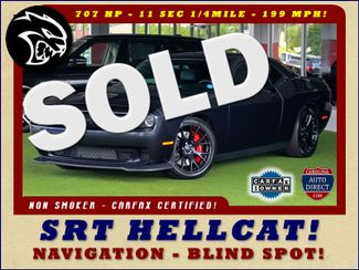 2016 Dodge Challenger SRT Hellcat NAVIGATION - 199 MPH TOP SPEED! Mooresville , NC