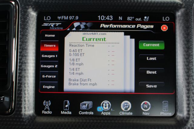 2016 Dodge Challenger SRT Hellcat NAVIGATION - 199 MPH TOP SPEED! Mooresville , NC 41