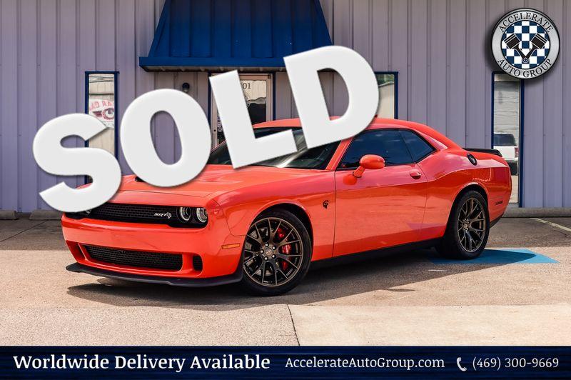2016 Dodge Challenger 6.2L V8 SUPERCHARGED SRT HELLCAT NAV NICE!!! in Rowlett Texas