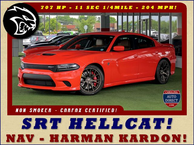 2016 Dodge Charger SRT Hellcat- NAVIGATION - 204 MPH TOP SPEED! Mooresville , NC 0