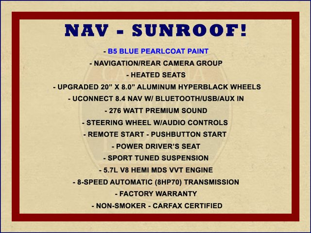 2016 Dodge Charger R/T RWD - NAVIGATION - SUNROOF! Mooresville , NC 1