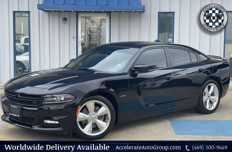 2016 Dodge Charger RT NAV/BT/LEATHER/CLEAN/SUPRTRKPK/BEATS AUDIO SYSTEM in Rowlett Texas