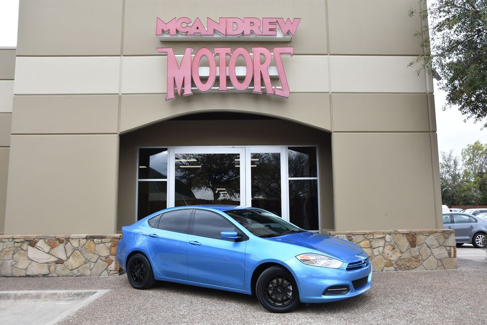 Dodge Dealership Arlington Tx >> 2016 Dodge Dart Low Miles Sxt Sport Arlington Texas Mcandrew Motors
