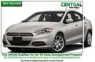 2016 Dodge Dart SXT | Hot Springs, AR | Central Auto Sales in Hot Springs AR