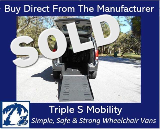 2016 Dodge Grand Caravan American Value Pkg Deposit Wheelchair Van Handicap Ramp Van Pinellas Park, Florida