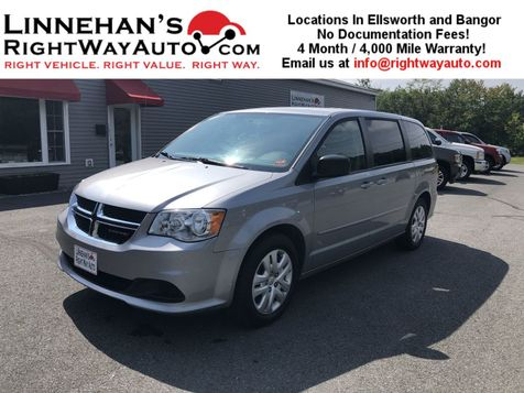 2016 Dodge Grand Caravan SE in Bangor