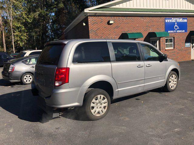 2016 Dodge Grand Caravan Handicap wheelchair accessible rear entry Dallas, Georgia 17