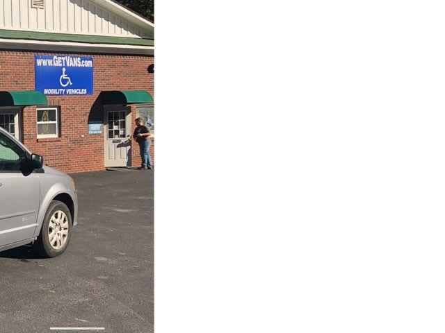 2016 Dodge Grand Caravan Handicap wheelchair accessible rear entry Dallas, Georgia 22