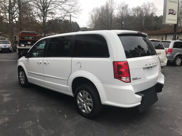 2016 Dodge Grand Caravan handicap wheelchair accessible van Dallas, Georgia 9