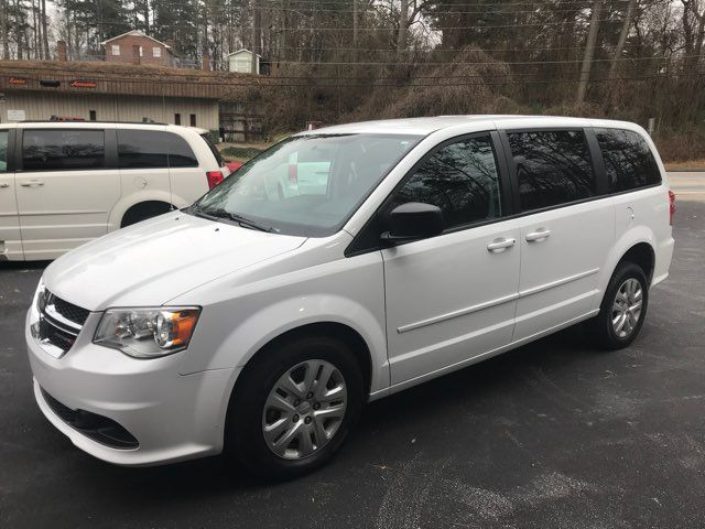 2016 Dodge Grand Caravan handicap wheelchair accessible van Dallas, Georgia 1