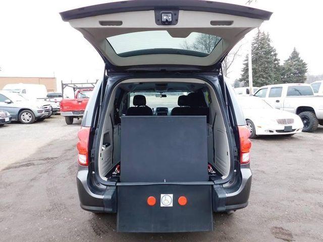 2016 Dodge Grand Caravan handicap wheelchair accessible rear entry van