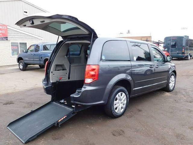 2016 Dodge Grand Caravan handicap wheelchair accessible rear entry van in Dallas, Georgia 30132