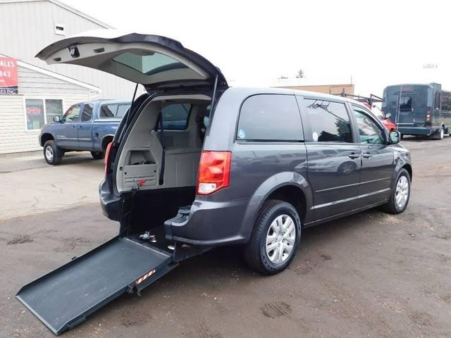 2016 Dodge Grand Caravan handicap wheelchair accessible rear entry van