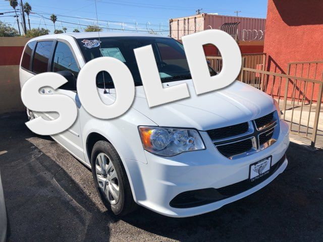 2016 Dodge Grand Caravan SE CAR PROS AUTO CENTER (702) 405-9905 Las Vegas, Nevada