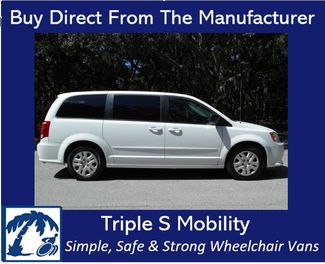 2016 Dodge Grand Caravan Se Wheelchair Van Handicap Ramp Van Pinellas Park, Florida 0