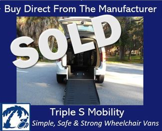 2016 Dodge Grand Caravan Se Wheelchair Van Handicap Ramp Van Pinellas Park, Florida
