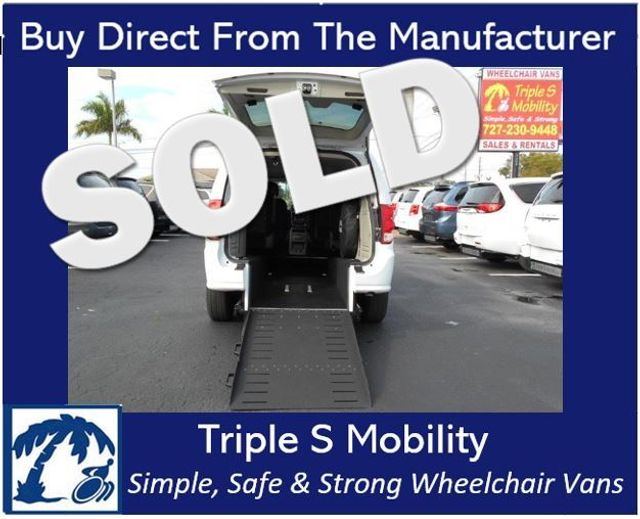 2016 Dodge Grand Caravan Se Wheelchair Van Handicap Ramp Van