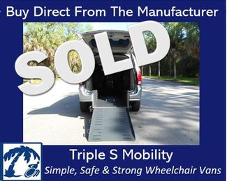 2016 Dodge Grand Caravan Sxt Wheelchair Van Handicap Ramp Van Pinellas Park, Florida 0