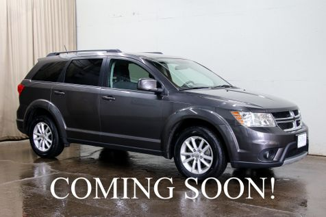 2016 Dodge Journey SXT Crossover with 3rd Row Seats, Touchscreen Infotainment, Keyless Start & Tow Pkg in Eau Claire