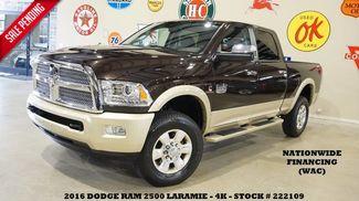 2016 Dodge RAM 2500 Laramie Longhorn 4X4 DIESEL,ROOF,NAV,HTD/COOL L... in Carrollton TX, 75006