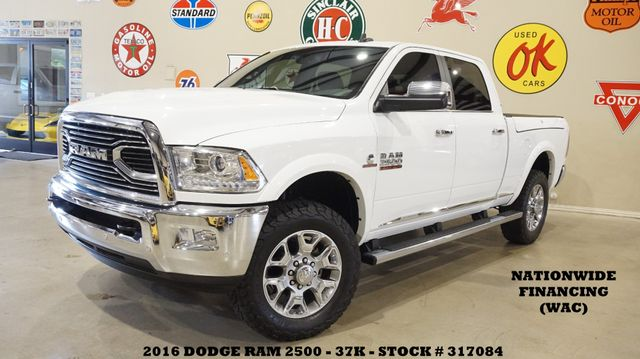 2016 Dodge RAM 2500 Longhorn Limited 4X4 ROOF,NAV,HTD/COOL LTH,37K