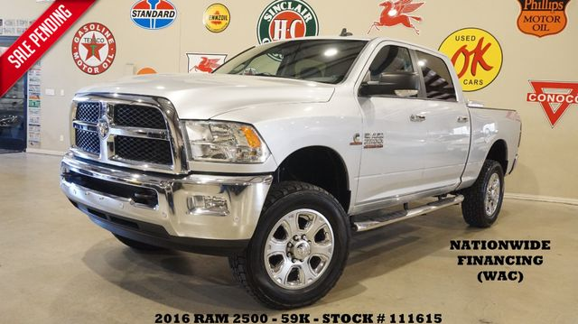 2016 Dodge Ram 2500 SLT DIESEL,6 SPD,LIFTED,NAV,BACK-UP CAM,59K