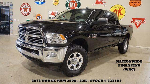 2016 Dodge Ram 2500 Lone Star 4X4 DIESEL,NAV,BACK-UP CAM,HTD CLOTH,32K