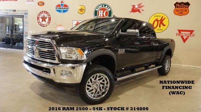 2016 Dodge Ram 2500 Lone Star 4X4 DIESEL,LIFTED,ROOF,NAV,FUEL WHLS,54K