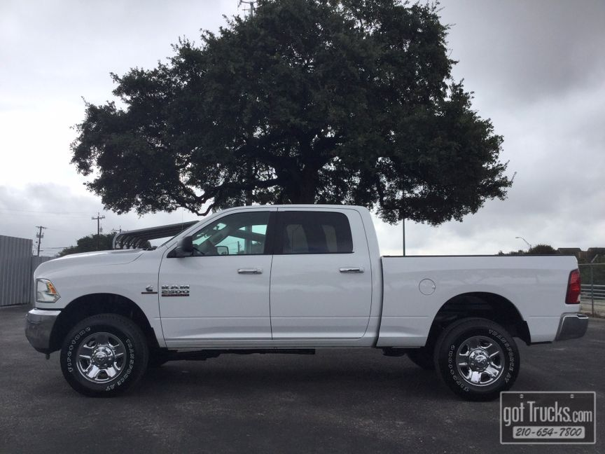 2016 Dodge Ram 2500 Crew Cab Slt 6 7l Mins Turbo Sel 4x4 In San Antonio
