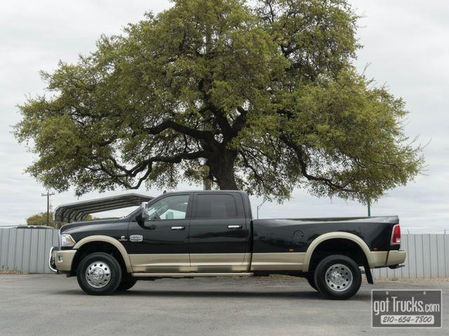 2016 Dodge Ram 3500 Crew Cab Longhorn 6.7L Cummins Turbo Diesel 4X4